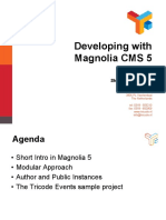 Developing With Magnolia Cms