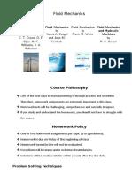 Fluid Mechanics Objective