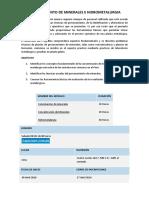 Procesamiento de Minerales e Hidrometalurgia-tecsup