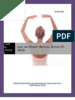 LDM Bona Fide Articles of Incorporation VI to 2012