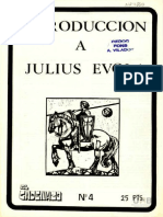 Introduccion a Julius Evola