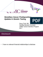 Hereditary Cancer Predisposition