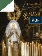 Programa de la Semana Santa de Toledo 2017