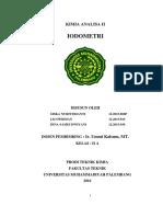 makalah iodometri