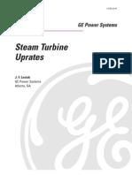 Steam Turbine Upgrades