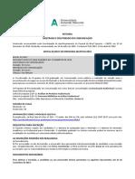 Edital_Processo Seletivo 2018_Mestrado e Doutorado Em Comunicacao