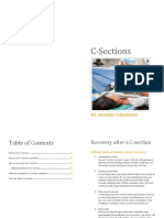 c-section booklet