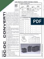 Manual DC Converter Std