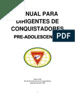 Manual para dirigentes de conquistadores preadolescentes www.softwareadventista.com.pdf