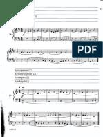 Bartok - Mikrokosmos Vol.1 Página 18