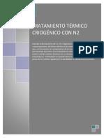 Informe de TFases tratamiento criogenico