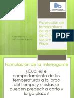 Proyección de Temperaturas de La Ciudad de Curicó