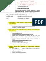 Evaluación Compartida CORRIDA POR LA INCLUSION