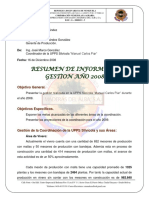 Informe Resumen Gestion 2008