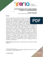FCU - USA - UNIATLÁNTICO - AMÉRICA LATINA / EUROPA / UCAM - RIO DE JANEIRO ( Docência do Ensino Superior)