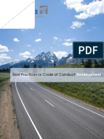 Best Practices in Code of Conduct Development 2013.Authcheckdam