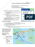 the atlantic world-slave trade the columbian exchange and global trade  20 3 20 4  student
