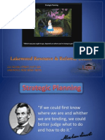 Developing Short and Long Term Goals for an Agency - Strategic Plan