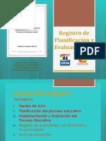 Registro de Planificación y Evaluación PIE 2017