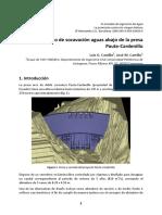 Valencia Estudio Socavación Paute-Cardenillo