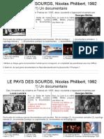 Pays Des Sourds Diaporama (Dossier Enseignant)