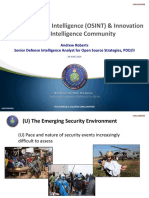 05_Open Source Intelligence Innovation in the Intelligence Community