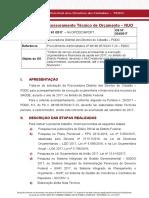 Nota Técnica nº 61/2017 de execução orçamentária da Saúde do DF