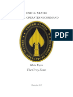 Gray Zones - USSOCOM White Paper 9 Sep 2015
