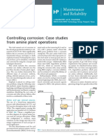 Controlling Corrosion - Case Studies From Amine Plant Operations (HP)