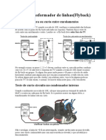 Testar Transformador de linhas(Flyback)