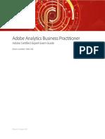 Adobe Analytics Business Practicioner