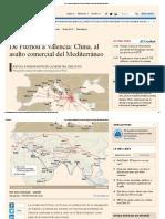 De Fuzhou a Valencia_ China, Al Asalto Comercial Del Mediterráneo