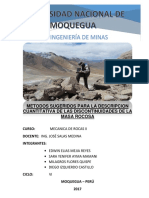 Informe de Rocas II