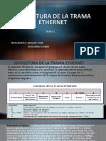 Estructura de La Trama Ethernet