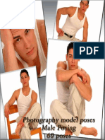 Photography Model Poses. Male Posing. 60 Poses