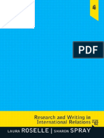 (2nd Edition) Laura Roselle, Sharon Spray-Research and Writing in International Relations-Pearson (2011)