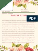 Tugas Rena - Patch Adam Review