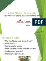 Know stroke