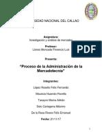 Proceso de La Administracion de La Mercadotecnia