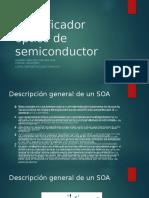 Amplificador óptico de semiconductor N°2