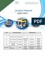 QMS-M01 Operation Manual