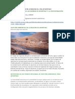 La Contaminación Ambiental en Apurímac.docx Ecologia