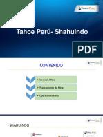 Presentación Shahuindo UNC
