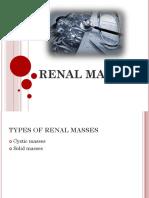 Renal Masses