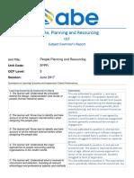 5PPR Examiner Report 0617