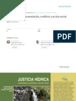 Justicia Hídrica  Acumulacion, Conflictos & AccionCivil_2011