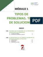 m Dulo 1-Tipos de Problemas Tipos de Soluciones
