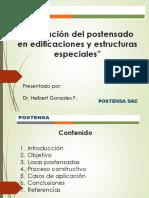 Aplicacion Del Postensado en Edificaciones y Estructuras Especiales