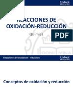 Reacciones Oxidacion Reduccion