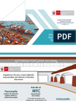 Actulización Del Plan Nacional de Desarrollo Portuario Del Perú - APN